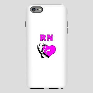 RN Nurses Care iPhone Plus 6 Tough Case