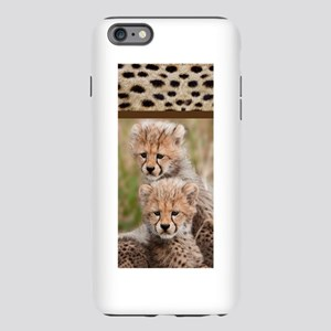 Baby Cheetah with Spots.p iPhone Plus 6 Tough Case
