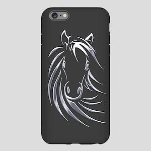 Silver Horse iPhone Plus 6 Tough Case