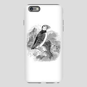 Vintage Arctic Puffin Bir iPhone Plus 6 Tough Case
