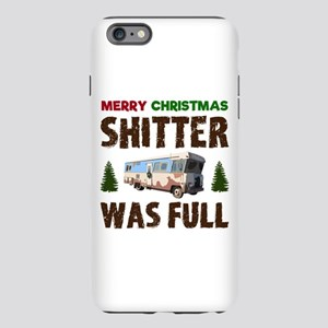 Merry Christmas, Shitter iPhone Plus 6 Tough Case