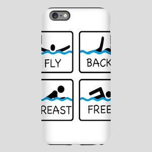 swimming iPhone Plus 6 Tough Case