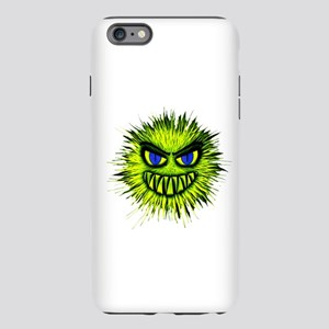 Green Spiky Monster iPhone Plus 6 Tough Case
