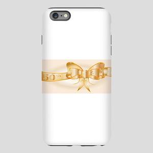 50th Golden Ribbo iPhone 6 Plus/6s Plus Tough Case