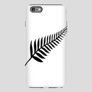 Silver Fern of New Zealan iPhone Plus 6 Tough Case