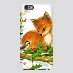 Cute Vintage Christmas Fo iPhone Plus 6 Tough Case