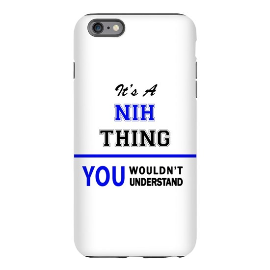 It's a NIH thing, you wouldn't understand