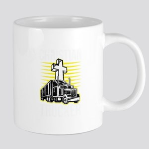 Trucker Christian Truck Driver Birthday Gift Mugs