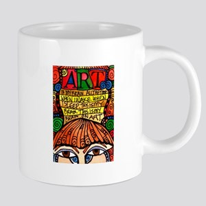 ART BRAIN (This is your brain on Art) Mugs