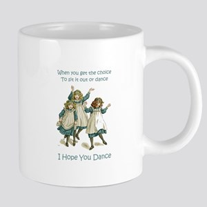 Baby April HOPE YOU DANCE 20 oz Ceramic Mega Mug