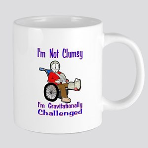 Im not Clumsy 20 oz Ceramic Mega Mug