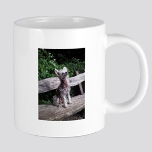chinese crested sitting 2 ls Mugs