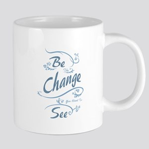 Umsted Design Be The Change You Want To See Mugs