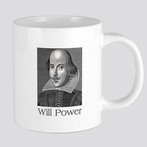Shakespeare Will Power Mugs