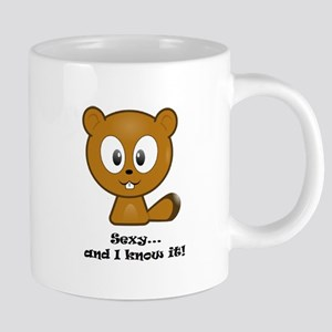 Sexy And I Know It Chipmunk Mugs