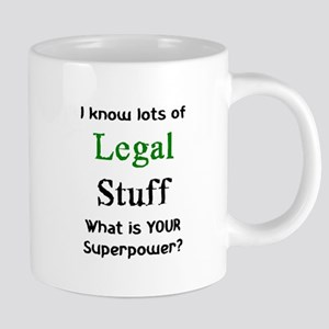 legal stuf 20 oz Ceramic Mega Mug