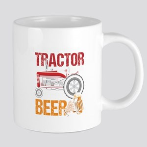 Weekend Forecast Tractor Beer Tractor Pulling Mugs