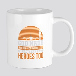 Funny Air Traffic Controller Hero Gift Mugs