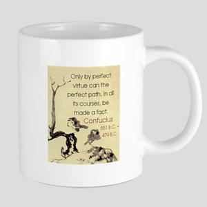 Only By Perfect Virtue - Confucius 20 oz Ceramic M