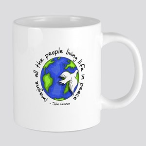 Imagine - World - Live in Peace Mugs