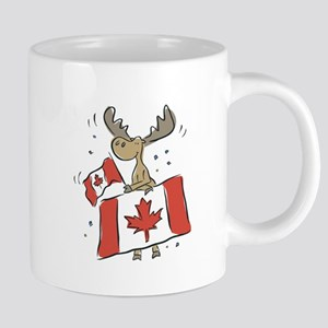 Canada Day Moose Mugs