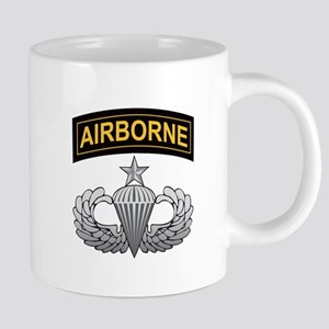 Senior Airborne Wings with Ai Large Mugs