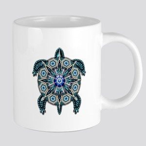 Native American Turtle 01 Mugs