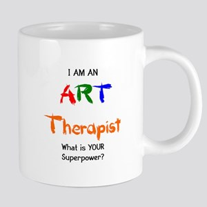 art therapist 20 oz Ceramic Mega Mug