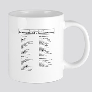 Boston-English Dictionary 20 oz Ceramic Mega Mug