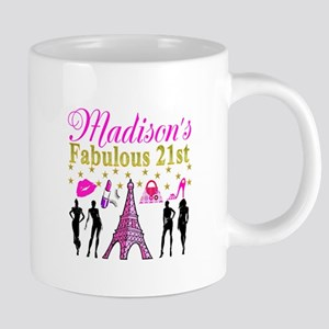 CUSTOM 21ST Mugs