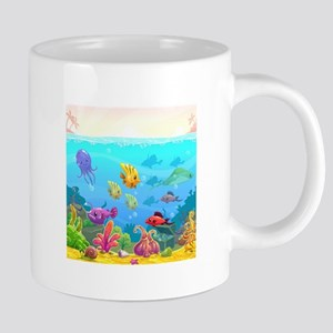 Cute Fish 20 oz Ceramic Mega Mug