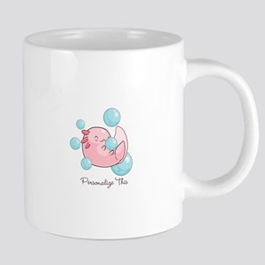 Cute Personalized Axolotl Mugs