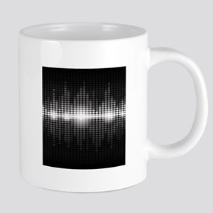 Sound Wave 20 oz Ceramic Mega Mug