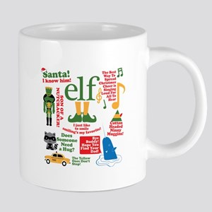 Elf Movie Collage 20 oz Ceramic Mega Mug