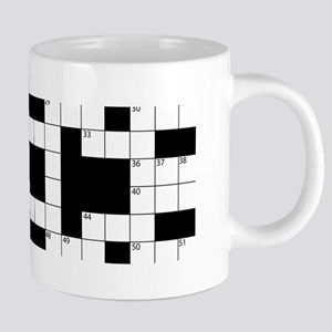 Cool Crossword Pattern Mugs