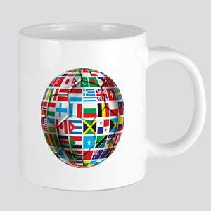 World Soccer Ball 20 oz Ceramic Mega Mug