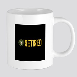 U.S. Army Retired 20 oz Ceramic Mega Mug