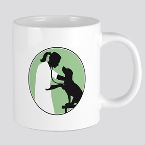 female veterinarian Mugs