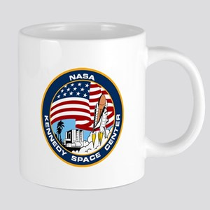 Kennedy Space Center Logo 20 oz Ceramic Mega Mug