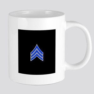 Police Sergeant (Blue) Travel Mugs