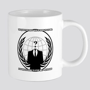 Ayn Rand Anonymous 20 oz Ceramic Mega Mug