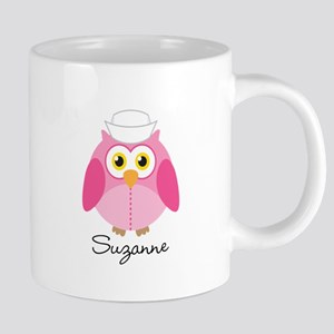 Personalized Nurse Owl Nursing Gift Mugs