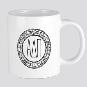 Alpha Delta Pi Medallion 20 oz Ceramic Mega Mug
