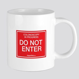 Colonoscopy Do Not Enter Mugs