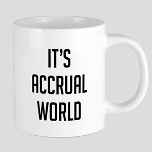 It's Accrual World 20 oz Ceramic Mega Mug