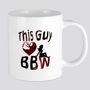 This Guy Loves BBW Mugs
