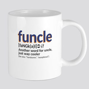 Funcle definition 20 oz Ceramic Mega Mug