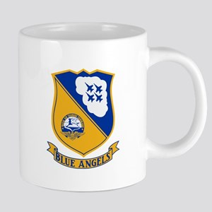 U.S. Navy Blue Angels Crest 20 oz Ceramic Mega Mug