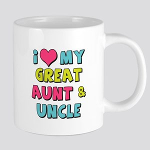 Love My Great Aunt & Uncle 20 oz Ceramic Mega Mug