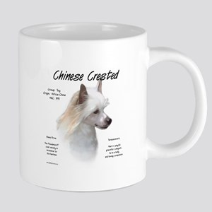Powderpuff Crested 20 oz Ceramic Mega Mug